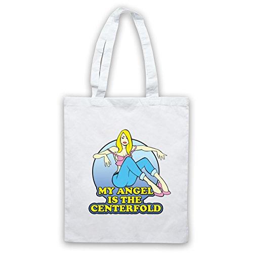 Ispirato Da J Cools Band Centerfold Angel Non Ufficiale Cape Bags Bianco