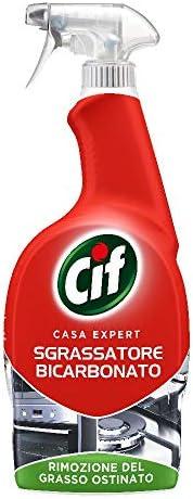 Cif Casa Expert Sgrassatore Bicarbonato per Superfici Dure, 650ml