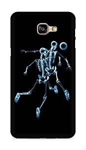 AMEZ Skeleton Back Cover For Samsung Galaxy A9