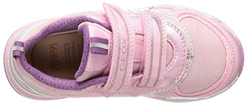 Geox J Top Fly G.A Mädchen Sneakers Pink