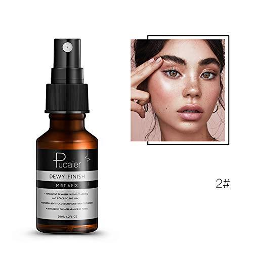 720d5d058 Hilai 1PC Ajuste de maquillaje Spray Spray de fijación y ajuste para  maquillaje Illuminating Fixing Spray