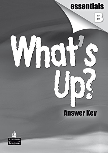 What'S Up? Essentials B Guía - 9788498371475