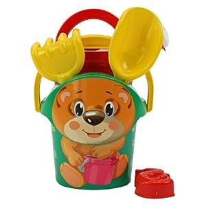Androni Giocattoli 1252-0000 1 - juguetes para arena (Multicolor, De plástico)