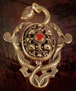 Pirates of the Caribbean Barbossa Pendant /Anhaenger Necklace (Fluch Karibik Kostüm Der Design)
