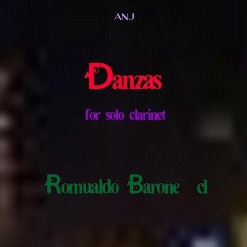 Danzas for solo clarinet