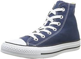 Converse Chuck Taylor All Star Core Hi, Baskets mode mixte adulte - Bleu (Marine), 37 EU
