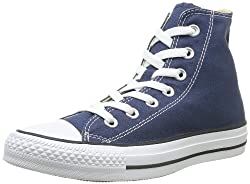 Converse Womens All Star Hi High Top Chuck Taylor Chucks Trainers Uk Sizes 3-9