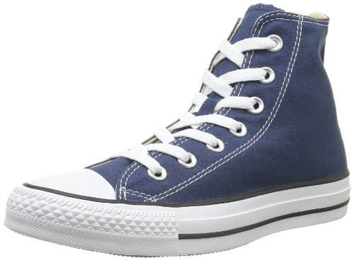 Converse All Star Hi Canvas Sneaker, Unisex Adulto, Blu (Blau/Navy), 41