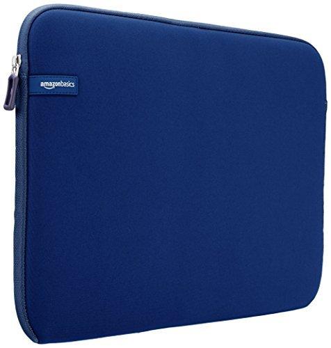 AmazonBasics Custodia per computer portatile da 15 156 pollici blu navy