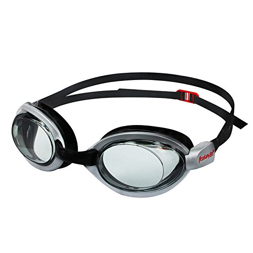 Barracuda KONA81 Gafas de Natación Goggles Miopía Graduado Óptico Triatlón Antiniebla Protección Anti-rotura Competencia Cómodo Unisex Adultos #51495 (-6.0)