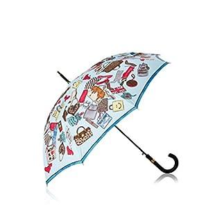 Moschino Cheap & Chic Regenschirm mehrfarbig one size