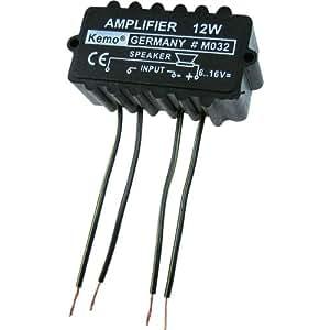 Module amplificateur Kemo (kit monté) 6 - 16 V/DC Puissance de sortie: 12 W 1 pc(s)