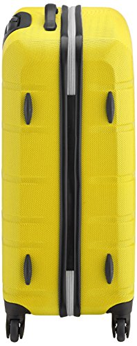 41YuFfcKZmL - American Tourister Houston City 2 Pc Set B Juegos de maletas, 75 cm, 123 L, Amarillo (Amarillo)