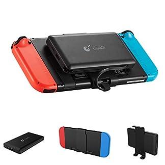 GULIkit Bateria Externa 10000mAh Power Bank para Nintendo Switch, 2 Puerto de Salida(USB C y USB) 5V/3A Carga Rápida Cargador Portátil Movil para iPhone iPad Samsung, Teléfonos Móviles, Tablet