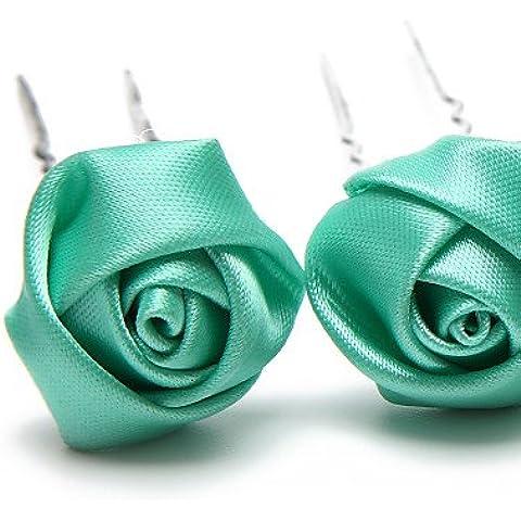 Copricapo Donne / Bambina Fermacapelli Matrimonio / Occasioni speciali Satin