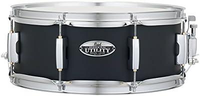 Pearl 14x 5,5moderno utilidad Snare Drum, Negro Hielo mus1455m/234