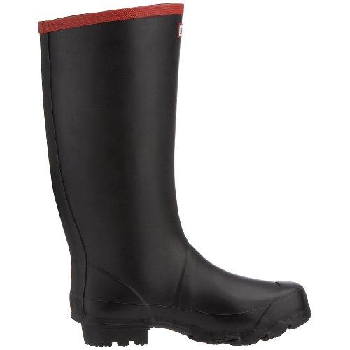 Hunter Argyll Full Knee Wellies, Boots homme Noir