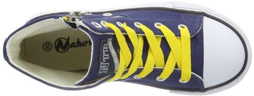 Naturino  NATURINO 2540., baskets fille Bleu - Blue - Blau (Bleu 9102)