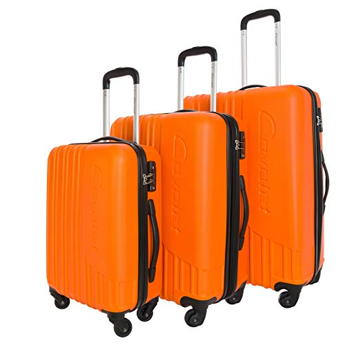 Cavalet Malibu Koffer-Set, 73 cm, 212 Liter, Orange