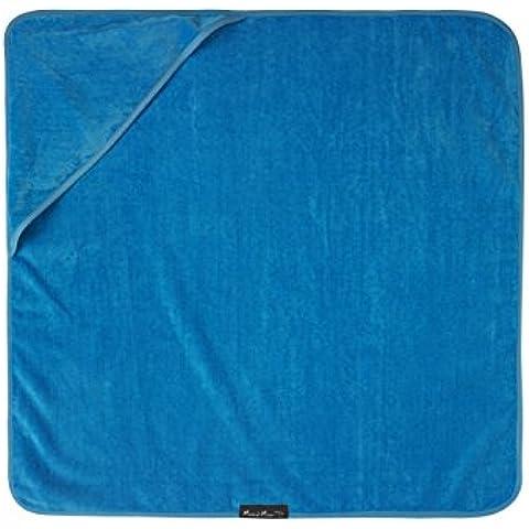 Mum2mum-Asciugamano da bagno con cappuccio per bambini, colore: blu