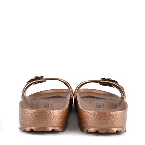 Birkenstock Madrid Sandales Femme Copper
