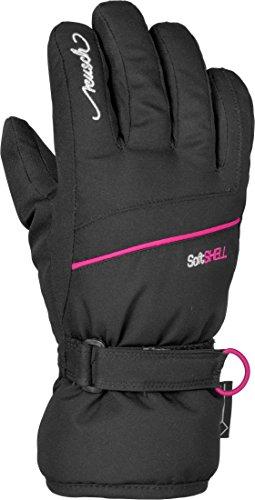 Reusch Mädchen Cita GTX Junior Handschuhe, Black/Pink Glo, 4