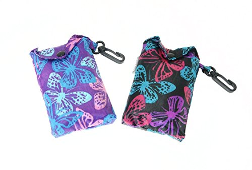 butterfly-design-fold-up-shopping-bag-with-clip-attachment-you-will-receive-one-bag-at-random-from-t