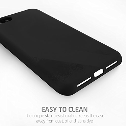 """First2savvv vert iPhone 7 4.7"""" Absorbant les chocs Coque Housse Silicone Case Cover -XJPJ-I7-4.7-C06 noir-Silicone"""