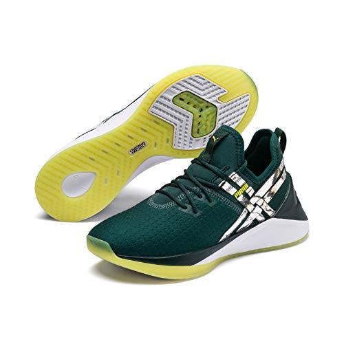 Puma Jaab XT TZ Wn's, Zapatillas de Deporte para Mujer, Verde Ponderosa Pine White, 39 EU