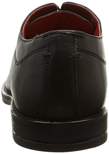 Base London Bayham, Derby homme Noir (Waxy Black)