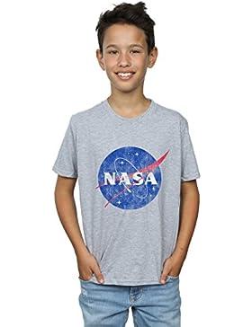 NASA Niños Classic Insignia Logo Distressed Camiseta
