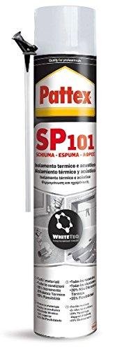 Pattex SP 101, espuma de poliuretano monocomponente, color blanco, 750 ml