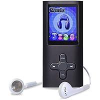 """Lettore MP4 / MP3, YOSASO registratore vocale digitale, radio FM, lettore di e-book con schermo colorato da 1,8""""e memoria interna da 8G, supporto per scheda SD"""