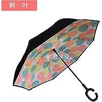 COLLECTOR Retromarcia auto creativo gratuito doppio-ombrello a forma di c