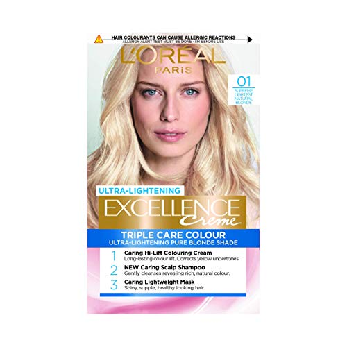 L'Oreal Excellence Blonde Supreme Permanent Hair Colour 01 Lightest Natural Blonde