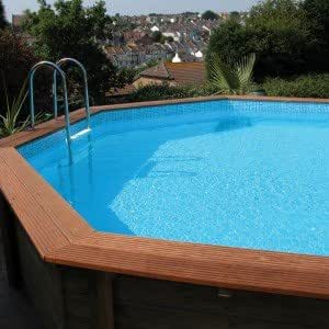 rutschsicher Ersatz für eine 6m x 3,8m Regent Holz Pool