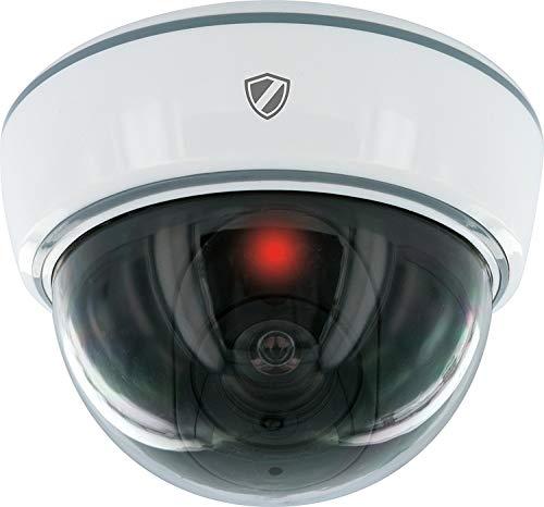 SCHWAIGER -5569- Kamera-Attrappe/Dummy-Kamera/Atrappe-Kamera/versteckte Kamera fürs Haus/Decken-Montage/Einbruchschutz/Sicherheit