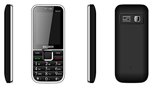 MELBON X2-01 GSM+CDMA with 1800mah Battery - Black