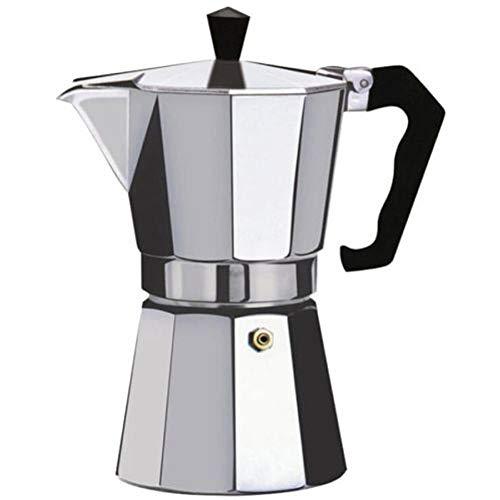 CHUN LING 3 Tazas cafetera café Espresso Forma Octagonal