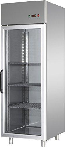 GAM Gastro Tiefkühlschrank Glastür 600 Liter 71x70x210 cm***NEU***
