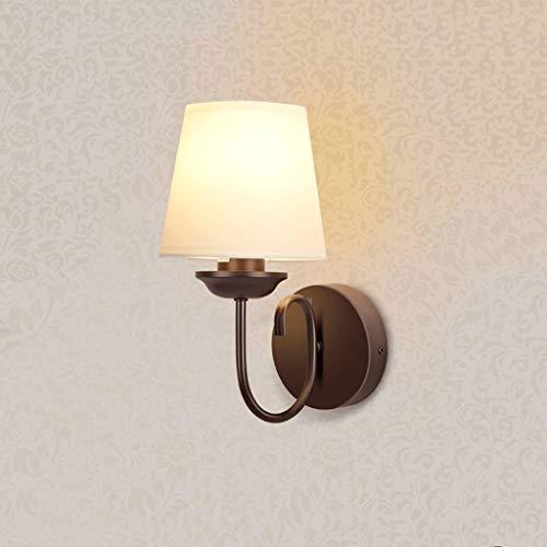 Applique Murale Lampe de Chevet éclairage Lampe de Salon Lampe de Salon Chambre à Coucher Lampe de Chevet escalier Simple extérieure Lampe Suspendue (Couleur : A)