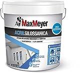 Maxmeyer 165026L580001 Esterno Pittura Acrilsilossanica Bianco 14 L