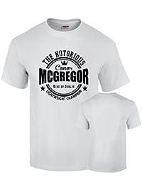 Camiseta McGregor boxeo ufc campeon algodon calidad 190grs