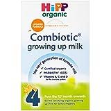 Hipp Combiotic Growing Up Organic Milk Powder 12mth + Etape 4 (600g) - Paquet de 2