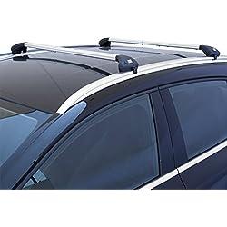 Fabbri AW67/3008 Barres de toit Railing intégré, en aluminium