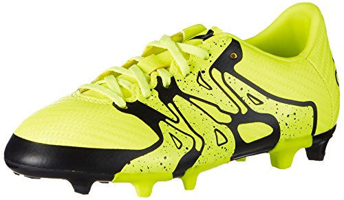 adidas X15.3 Fg/Ag, Chaussures de football garçon Jaune - Gelb (Solar Yellow/Core Black/Frozen Yellow F15)