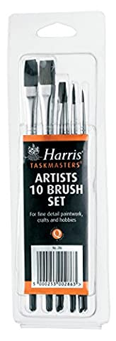 Harris 286 Artists Brush Set (Pack of 10)