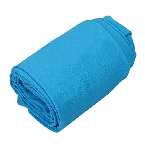 pu ran - Collants - Femme - bleu -
