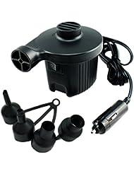 Drive Travel Bomba de Aire Eléctrica para Acampada 12V Bomba Eléctrica Incluyendo 4 Accesorios Portátil Bobina de Cobre puro Larga Vida útil para Colchones de Aire Inflables