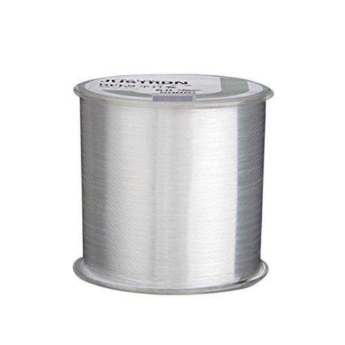 Asap chic colorato in nylon lenza resistente filo bobina 500meters monofilamento pesca competitiva fish line, transparent, 1.2